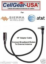 Sierra Wireless AT&T Mercury Compass 885 Modem External Antenna Adapter FME-M
