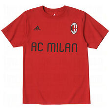 adidas AC Milan Signature Soccer Fan Shirt 2011 - 2012 Brand New Red