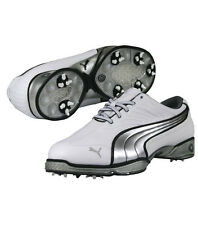 Puma Cell Fusion Golf Shoes White/Silver all sizes NEW 1447