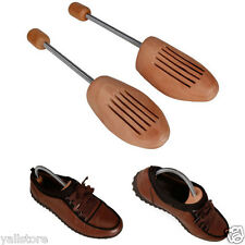 Wood Tree Shoe Stretcher Shoes Care Unisex Accessories Wooden Different Sizes