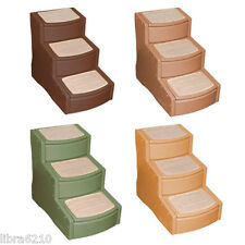 """23""""H Easy Step Iii Three Steps Pet Dog Cat Bed Stairs 4 Colors New"""
