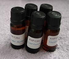 Cosmetic Grade Fragrance Oil 10ml  * Soap Making * Bath Products * - 35 Scents!