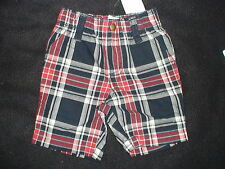 NWT GYMBOREE AVIATOR SCHOOL PLAID SHORTS FALL