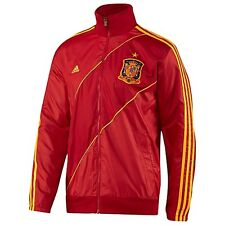 adidas Spain EURO 2012 Soccer Presentation Jacket Red / Yellow Brand New