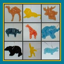 ANIMAL AUTO AIR FRESHENER Turtle Bear Lion Deer Giraffe & More! Over 100 scents!