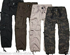 BRANDIT HERREN ARBEITS HOSE PURE VINTAGE TROUSERS CARGO HOSE ARMY HOSE S-7XL