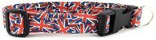 Union Jack Quick Release Buckle Pet Dog and Cat Collars