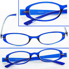 ~Twist and See~ Flexi Fexible Fun Frame READING GLASSES Bella Blue +1.75 +3.00