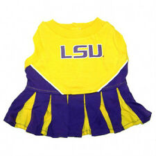 LSU Tigers NCAA Licensed Pet Dog Cheerleader Dress Outfit