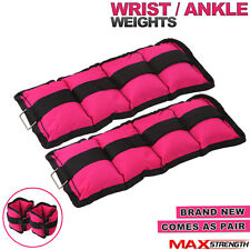 Wrist ankle weights exercise fitness gym training foot velcro straps 1kg 2kg 3kg
