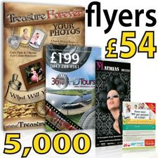 A5 Full Colour Gloss leaflets / flyers on 150gms