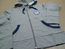 Official Olympics London 2012 Team GB Track Top Ladies Grey Hoodie