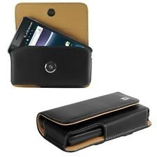 Leather Horizontal Case Pouch Holder for MOTOROLA Phones. +Holster Belt Clip New