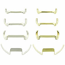 White Gold & Yellow Gold Filled Womens Ring Guard Adjuster Creates A Custom Fit