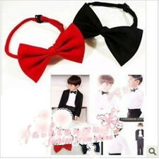 High Quality Satin Mens Pre Tied Wedding Party Fancy Plain Necktie Tie Bow Ties