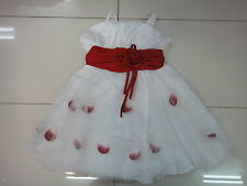 BNWT Girls Beautiful Wedding/Party Dress Size3,4,5,6,7,8