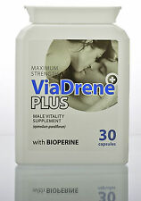 Viadrene Plus Powerful Erection Sex Pills for Erectile Dysfunction ED Impotence