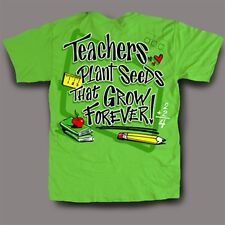NEW Hot Gift Sweet Thing Funny Teacher Plant Seeds Green Girly Bright T-Shirt