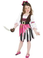 GIRLS PIRATE GIRL FANCY DRESS COSTUME CHILDRENS PIRATES OF THE CARIBBEAN OUTFIT