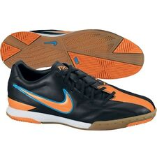 Nike Total 90 Shoot IV IC Indoor 2012 Soccer Shoes Black / Blue / Orange