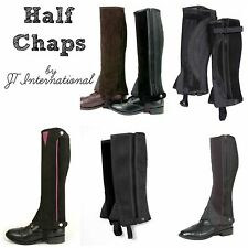 Adult Half Chaps English  --Assort. Sizes, Colors & Styles --NWT