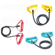 Reebok Resistance Bands Tubes Exercise Gym Fitness Levels 1, 2 & 3