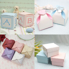 Multi-Style Bonbonniere Wedding Favor Party Baby Shower Decor Gift Candy Boxes