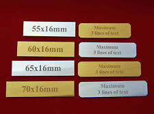 Sports Trophy Engraved Plate Plaque Picture Frame, Engraved Gift Label, sign
