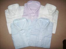 Mens Shirt - NON IRON Pure Cotton Double French Cuff - Good Quality *RRP £29.50