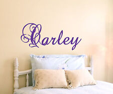 GIRLS BOYS Personalized Name Vinyl Wall Decal Sticker Art