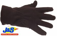 J&S FLEECE INNER GLOVE MOTORCYCLE MOTORBIKE SKI WALKING WINTER GLOVE