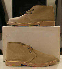 Roamers Lace up Camel suede leather desert boot in UK sizes 6 7 8 9 10 11 12