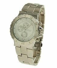 Geneva Womens or Mens Unisex Designer Inspired Oversized Chronograph Style Watch