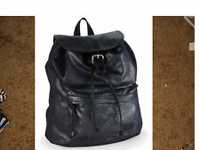NWT $50 AEROPOSTALE BLACK SHIMMER COTTON TWILL  CANVAS BACKPACK BOOK BAG