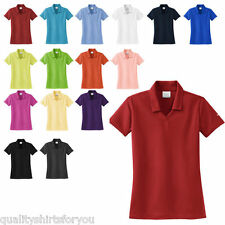 NIKE GOLF NEW Womens Dri-Fit Micro Pique Polo Sport Ladies Shirts 16 COLORS