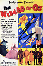 2330. The Wizard of oz Movei Art Decoration POSTER. Home Graphic Design.
