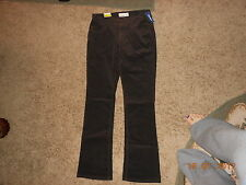NWT OLD NAVY SWEETHEART BOOTCUT CORD CORDS PANTS STRETCH DARK BROWN