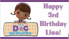 NOW $29.95!! Disney Junior Doc McStuffins Birthday Party Banner Decorations