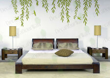 Hanging Willow Tree Branches Removable Matte Vinyl Wall Decor Decal Stickers