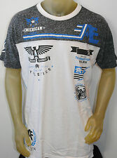 NWT AMERICAN FIGHTER BY AFFLICTION MEN'S S/S 'BLACKOUT' T-SHIRT SIZES: XL, 2XL