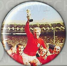 WORLD CUP 1966 Pin Button Badge - CLASSIC!  25mm and 56mm size!