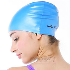 NEW YINGFA Silicone pure swim swimming bathing cap more colors to choose