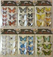 3D Beautiful Butterfly Stickers -Scrapbooks, Arts And Crafts, Home Decor (HL112)