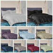 1000TC EGYPTIAN COTTON QUILT/DUVET COVER SET KING/QUEEN/DOUBLE/SINGLE SIZE Bed