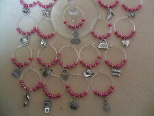 Hen Do, Hen Night, Hen Party Wine Glass Charms