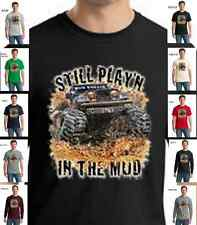 Jeep 4x4 Off Road Still Playing In The Mud Bog Four Wheel Drive Cotton T-Shirt