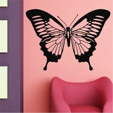 BUTTERFLY decal sticker decals car kids bedroom flower girly vinyl wall stickers