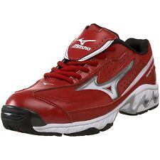 Red White Mizuno Speed Trainer G3 Switch Baseball Softball Turf Shoes NIB