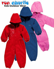 Regatta Splosh All-in-one Suit Waterproof Breathable Fleece Lined Kids Babies
