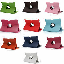 "360° Rotating Leather Case Cover Smart Stand For 10.1"" Samsung Tab P7510/P7500"